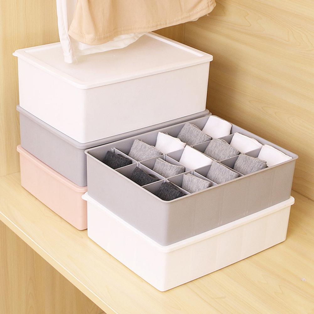 Multi Grid Unterwäsche Organizer Closet Bhs Slips Socken Krawatten Lagerung Schublade Box