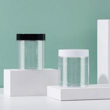 Container Jars Creams Clear-Pot Cosmetic 200ml Empty Plastic High-Quality 5pcs 7-Oz Lids