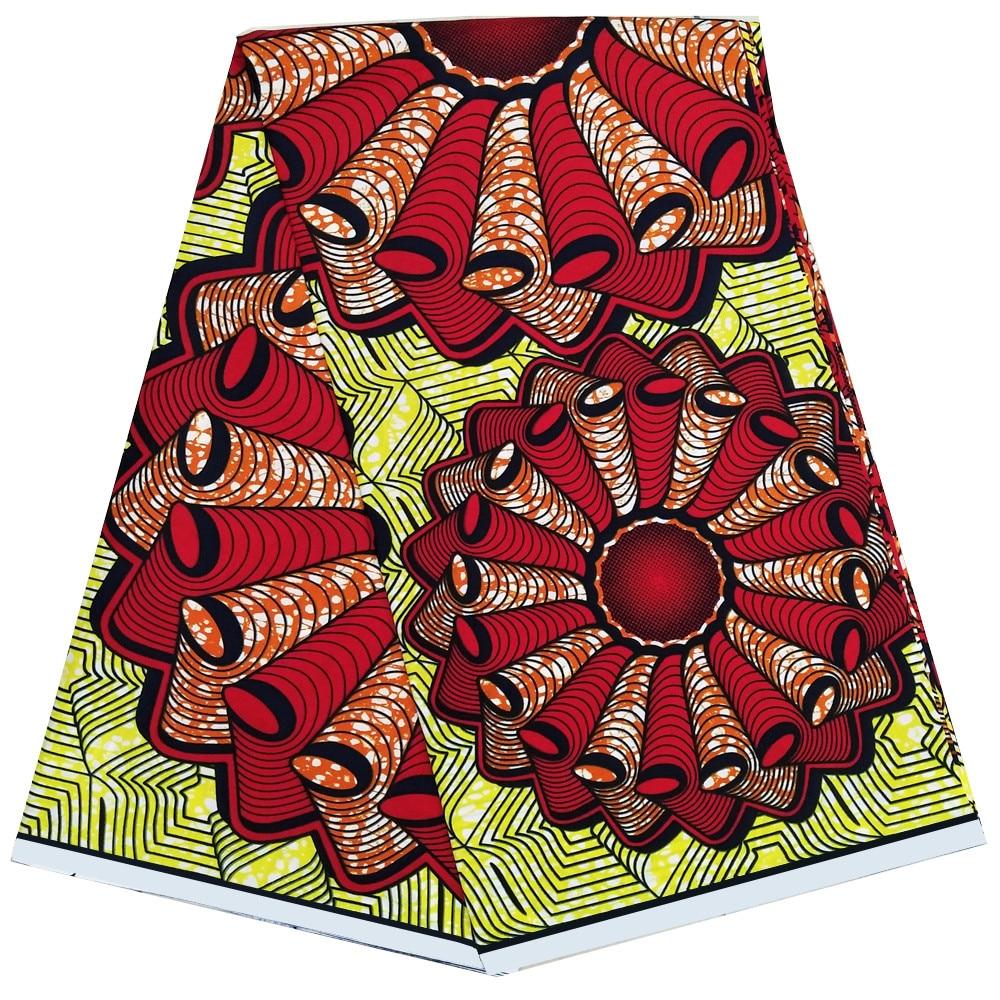 2019 new African Wax print fabric african ankara real dutch wax