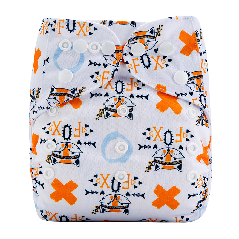 All In One Organic Cloth Diapers For Baby Cloth Nappies Organic Eco Friendly Reusable Nappies M31