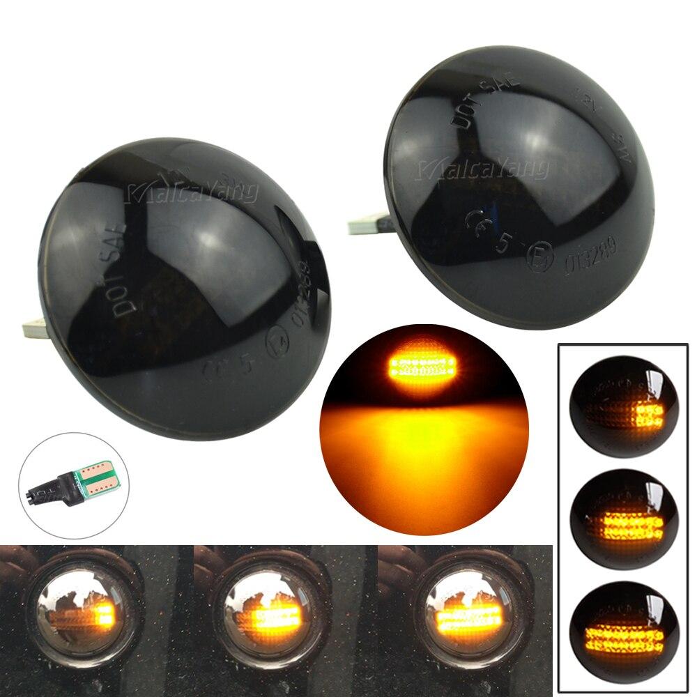 2X Кристалл Копченый боковой маркер светодиодный светильник сигнала поворота для Range Rover L322 2002-2012 XGB500020A XGB500020 IRR/RA12L32202SM