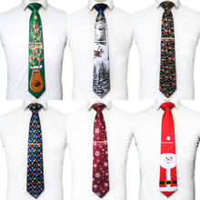 KAMBERFT Quality Christmas Ties for Men 9cm Designer Snowflake Animal Tree Novel