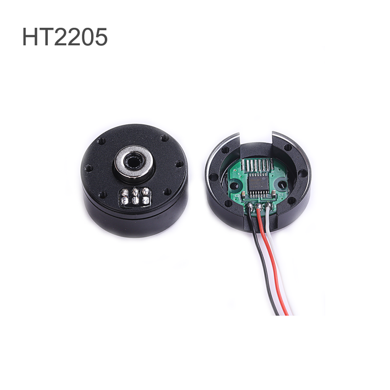 12V 800RPM Brushless Gimbal Motor HT2205 Mini Camera Pan-Tilt-Zoom PTZ BLDC Motor With 12-14Bit AS5048A/AS5600 Encoder For RC image