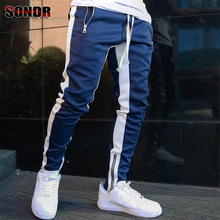 2020 new fashion men's casual pants autumn and winter beam f