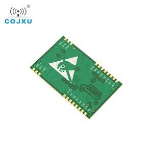 Image 3 - SX1268 TCXO UART LoRa netto pracy E22 400T22S SMD stempel otwór RSSI bezprzewodowy Transceiver 22dBm 433MHz IPEX moduł RF odbiornik