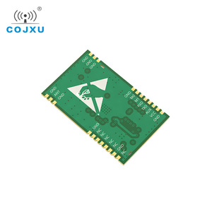 Image 3 - SX1268 TCXO UART Lora สุทธิทำงาน E22 400T22S SMD หลุมแสตมป์ RSSI ไร้สาย 22dBm 433MHz IPEX RF โมดูลตัวรับสัญญาณ