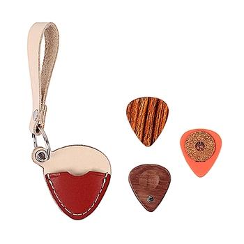 3 sztuk zestaw Guitar Plectrum Picks gitarzysta Pick z gitary wybiera futerał do przechowywania tanie i dobre opinie M MBAT CN (pochodzenie)