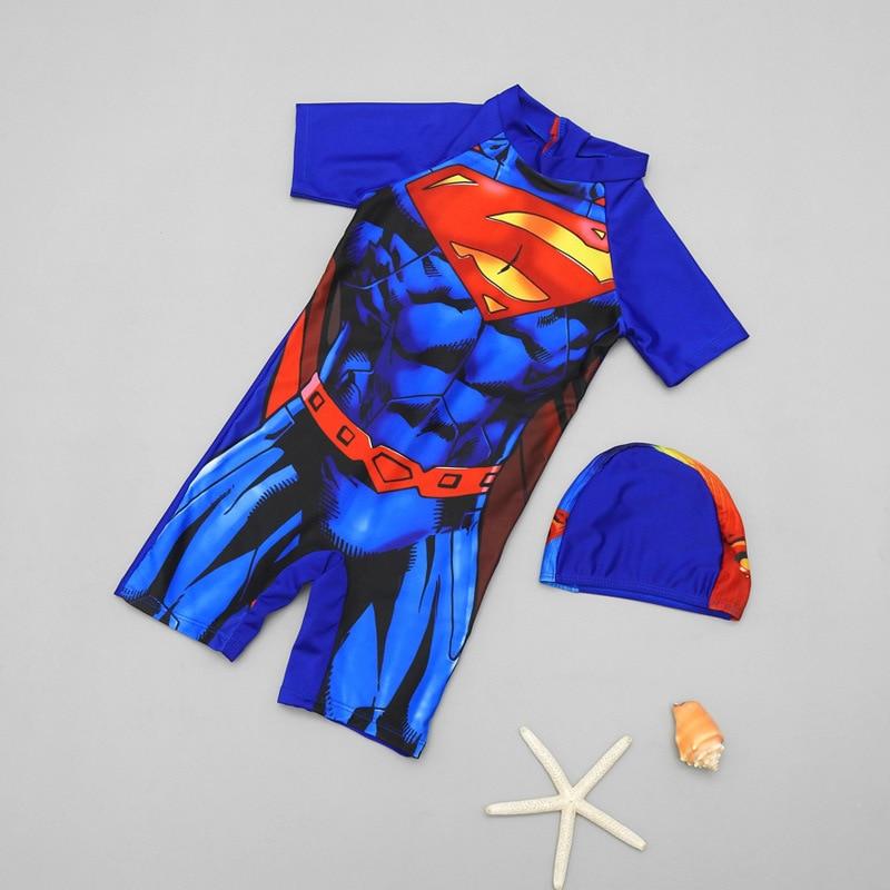 One-piece Swimsuit For Children Baby BOY'S Boy Tour Bathing Suit Hot Springs Beach Sun-resistant One-piece Swimwear
