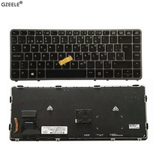GZEELE Spanish New keyboard FOR HP EliteBook 820 G1 G2 backlight With pointing sticks Laptop Keyboard SP layout