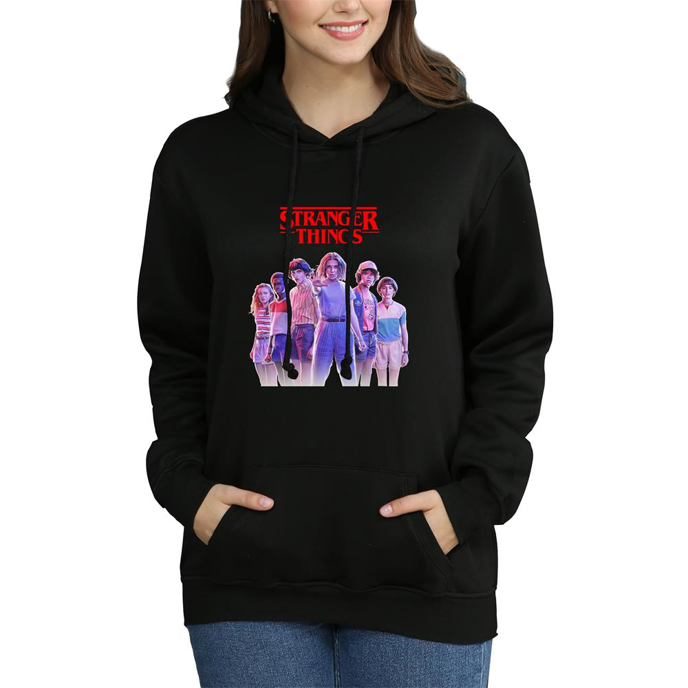 Stranger Things Hoodie Women Hoodie Sweatshirt Knitted Sportswear Oversized Hoodie 2019 Fans Sweatshirt Merchandise