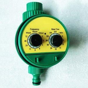 Автоматический интеллектуальный Полив Таймер орошения контроллер электрический клапан датчик дождя светодиодный дисплей Электронный Сад...