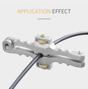 Image 3 - Kesici boyuna açılış bıçak kılıf eğme Fiber optik kablo striptizci SI 01