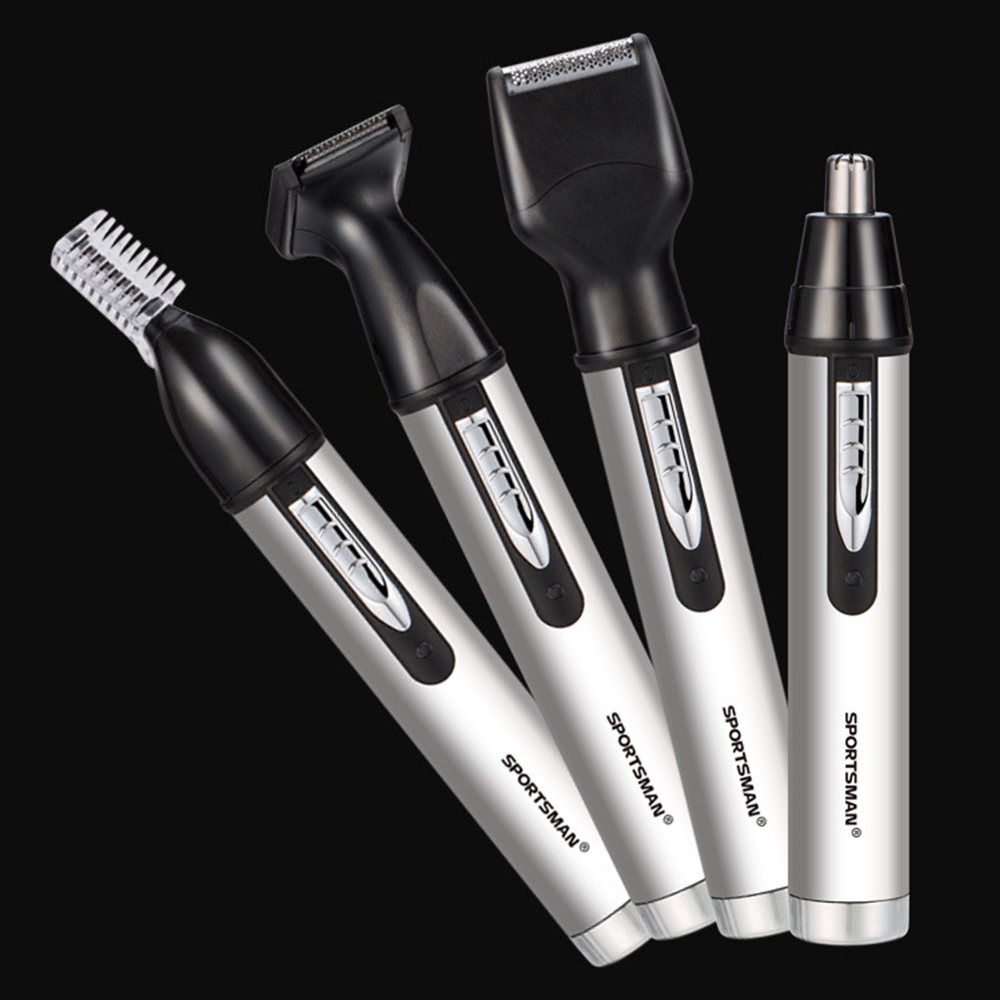 Image 4 - Electric nose hair trimmer male rechargeable sideburns fan you razor trimming eyebrows in oneNose & Ear Trimmer   -