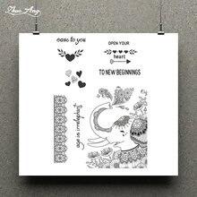 Zhuoang Веселая маленькая печать животных/резиновый штамп для