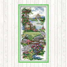 Cross-Stitch Fabric Embroidery-Kit Needlework-Sets Hand-Crafts Canvas 11ct Printed Chinese
