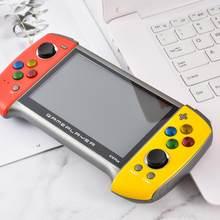 Gamepad x19plus handheld retro console de jogos 5.1 polegadas tela grande suporta ps1 gbc md nostálgico gba game console gamepad pubg