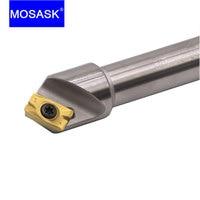 MOSASK utensile per smussatura 45 gradi APMT 1135 1604 inserti in metallo duro supporto SSK 12 20 mm tornio CNC fresa per smussatura