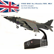 AMER 1/72 Scale 1982 BAE Sea Harrier FRS. Mk1 V/STOL Strike Fighter Diecast Metal Plane Model Toy For Collection/Gift/Kids цена