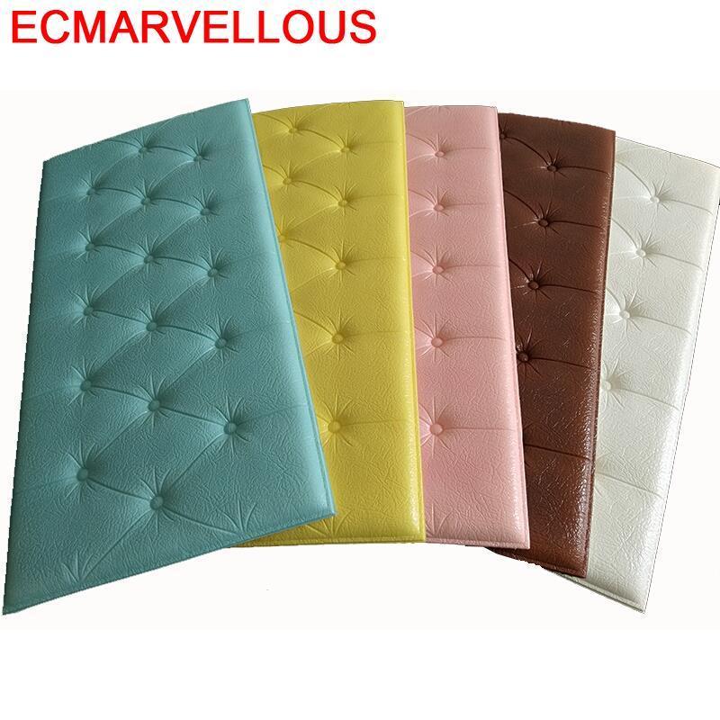 Cushion Testata Letto Bedroom Children Furniture Head Board Child 3D Wall Sticker Pared Bed Cabecero De Cama Cabeceira Headboard