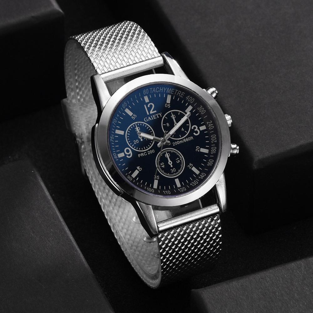 Watch Men Fashion 2019 Crystal Luxury Men's Watches Analog Quartz Silicone Strap Big Dial Wrist Watch Erkek Kol Saati Zegarek Q