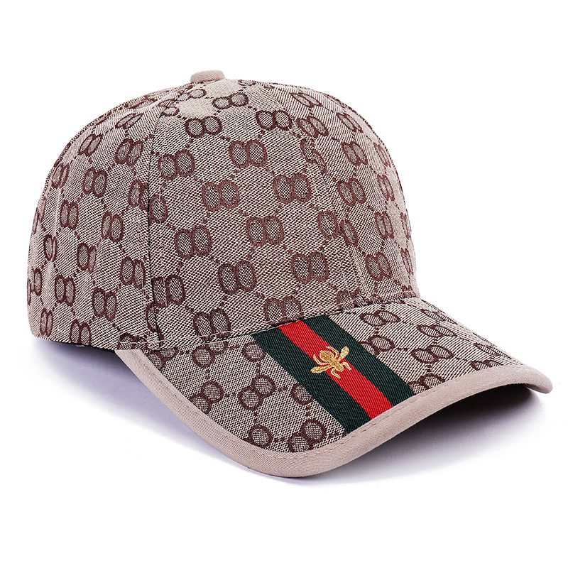 2019 Summer Baseball Cap Children Korean-style Fashion Brim Hat Men's Embroidered Bees Versatile College Style Sun-resistant Sun