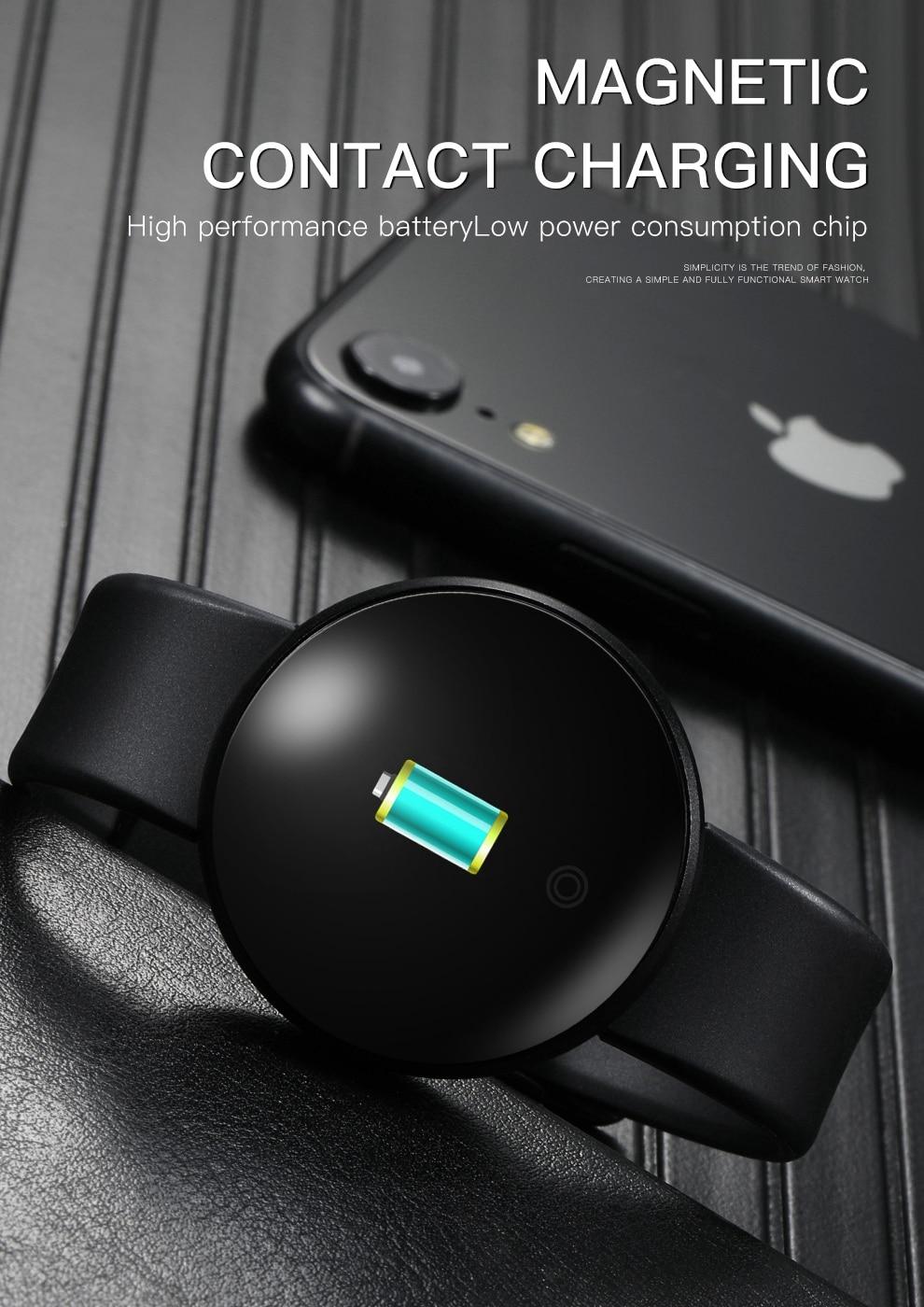 H4036a44a15434cb4b4776e3bb732e348V SKMEI Men Smart Watch Heart Rate Sleep Monitor GPS
