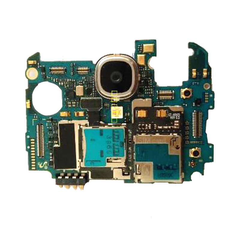 Full Working Used Unlocked For Samsung Galaxy S4 I9500  Motherboard Logic Mother Board Free Shipping