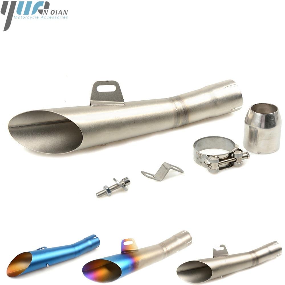 Universal Motorcycle Exhaust pipe Muffler Rear Pipe Tailpipe FOR KTM DUKE 250 DUKE 390 DUKE 200 DUKE 690 DUKE 790 DUKE 125 990SM