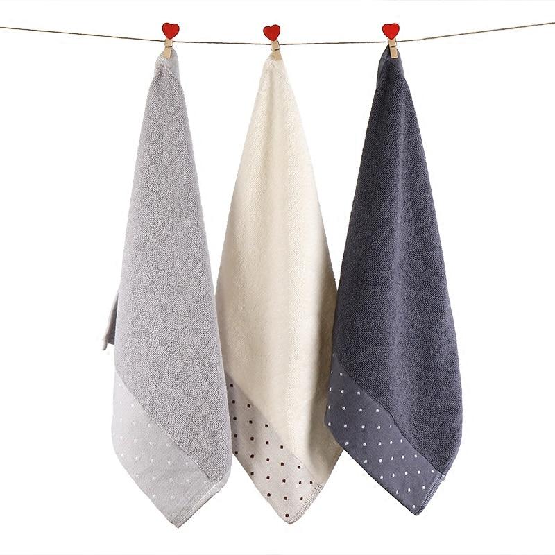 3PC/LOT Soft Washed Cotton Handkerchief Towel Adult Children Face Towel Muslin SquareTowel AD0655