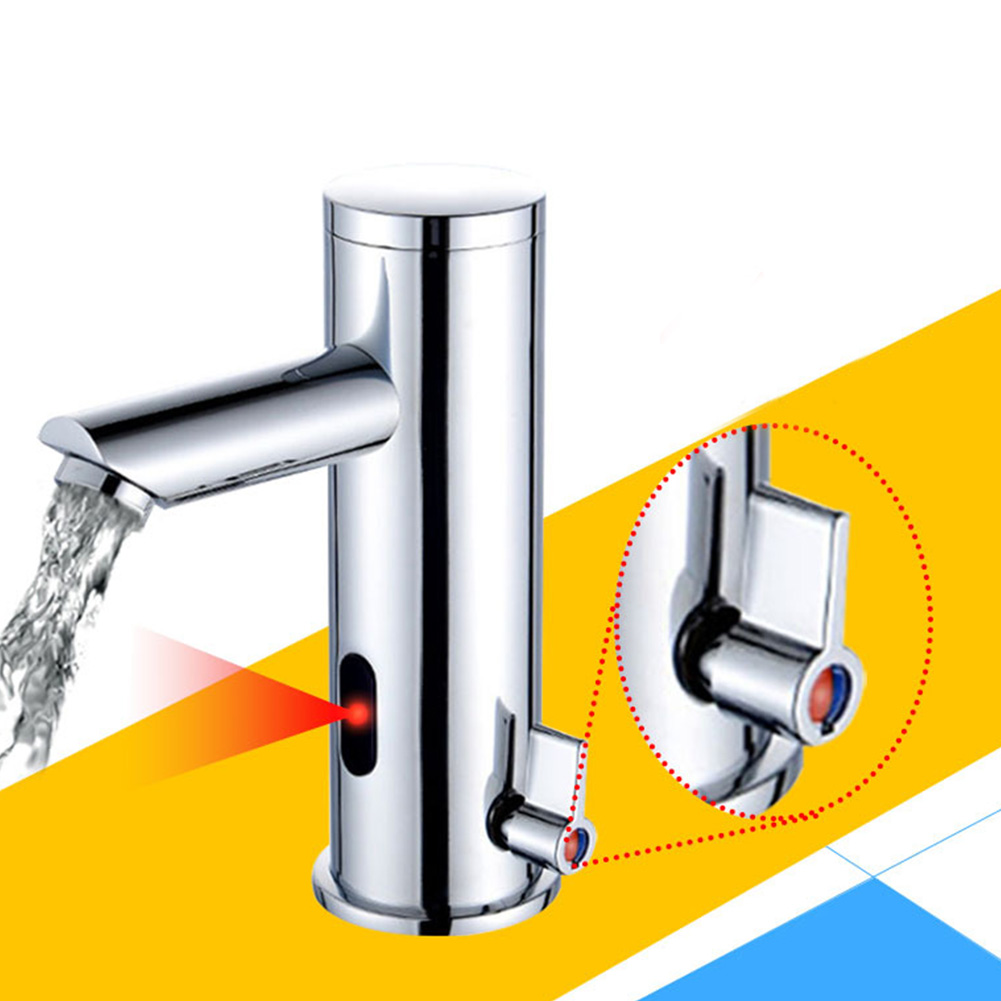 Heat Resistant Kitchen Hot Cold Faucet Sink Durable Accessories Decorative Bathroom Home Easy Install Sensor Automatic Smooth
