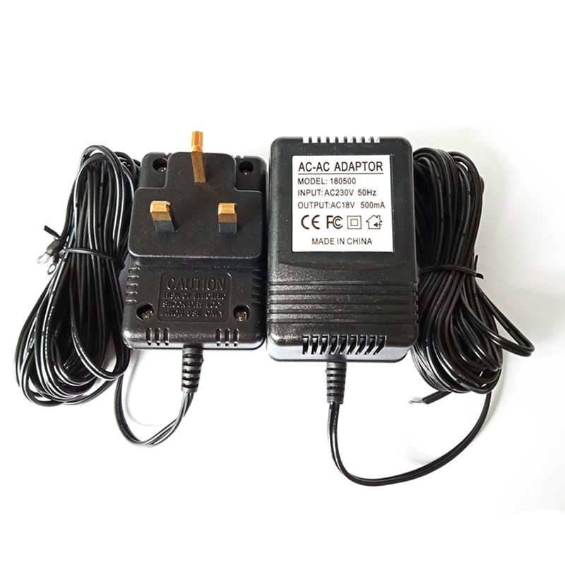 Купить с кэшбэком US UK EU Plug 18V AC Transformer Charger for Wifi Wireless Doorbell Camera Power Adapter IP Video Intercom Ring 110V-240V