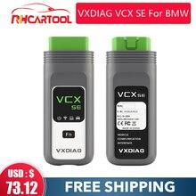 VXDIAG VCX SE Подходит для BMW лучшая ICOM A2 A3 следующий WI-FI ISTA-D OBD2 сканер Авто диагностический инструмент программирования ECU онлайн-кодирования дсц...
