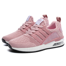 Cushioning Pink Sneakers Women Running Shoes 2019 professional Sports for Jogging Female Cushion Trainers Green