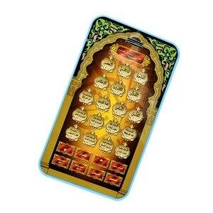 Image 4 - ערבית קוראן אסלאמי 18 פרקים מתנה הטובה ביותר עבור מוסלמי ילדים חינוכיים אל Kuran למידה מכונת צעצועי Tablet צעצוע כרית ילד