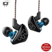 KZ ES3 1DD + 1BA Hifi Sport In-Ohr Kopfhörer Dynamische Treiber Noise Ersatz Kabel Cancelling Headset ZSN Pro ZS3 ZS4 S1 S2