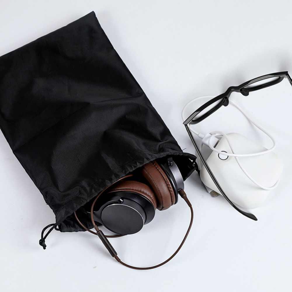 Tahan Air Tas Serut Sepatu Pakaian Dalam Perjalanan Sport Tas Nilon Tas Organizer Pakaian Packing