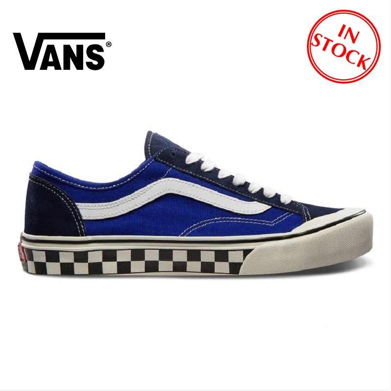 VANS SK8 HI Men and Women Shoes Classic Street Style High To