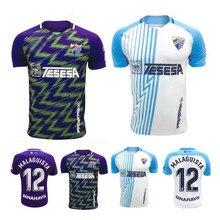 20 21 málaga camisa k. Bare juanpi adrian cf juankar camisa de futebol 2020 2021 homens uniformes