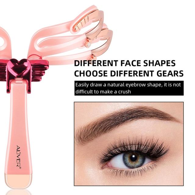 Adjustable Eyebrow Shapes Stencil Reusable Mold Hand-held DIY Eyebrow Shapes Template Eyebrow Stencil Shaper Beauty Tool NEW Hot 3