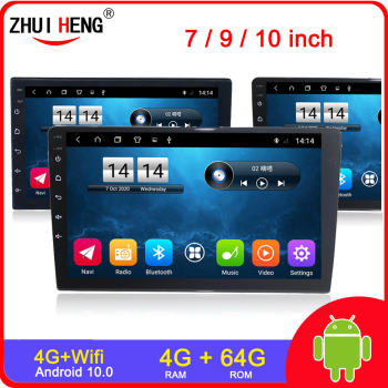 7/9/10.1 inch 2 Din Android 9.1 Car radio undefined Universal Car Stereo Radio car mp5 For Volkswagen Nissan Hyundai Kia Toyota image