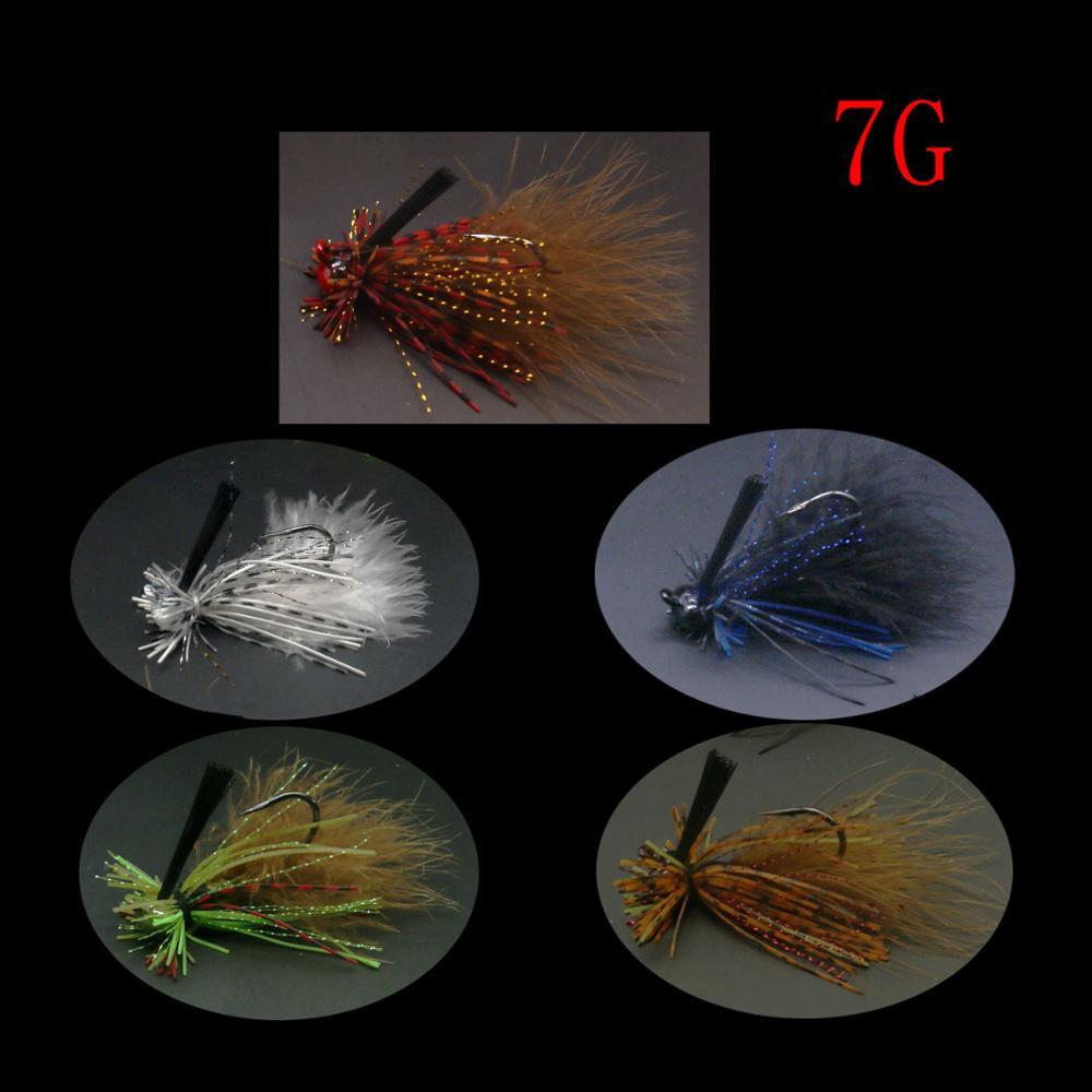 JonStar 1pc 7G/12G/15G/16G Finesse Chatter bait spinnerbait fishing lure wobbler chatterbait for bass pike walleye fishing-1