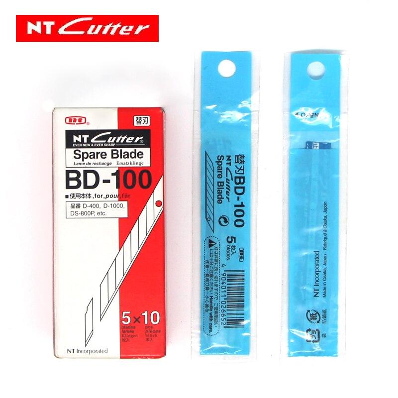 Купить с кэшбэком X50pcs NT Cutter Spare Replacement Blade 30 Degree BD-100 for D-400 D-1000 C-400 C-1500