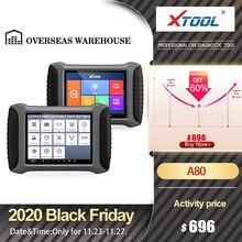XTOOL A80 Có Bluetooth/WiFi Xe Hơi OBD2 Hệ Thống Đầy Đủ Công Cụ Chẩn Đoán Xe Sửa Chữa Công Cụ Mã Máy Quét Tuổi Thọ giá Rẻ Cập Nhật