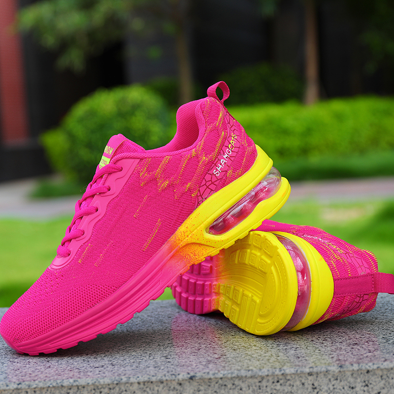 New 2020 Women's Running Shoes Comfortable Breathable Ladies Sneakers Casual Outdoor Non-slip Wear-resisting Women Shose