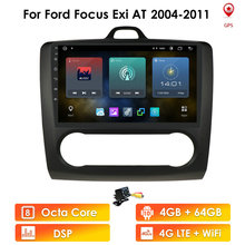 Quad Core Android 10 Auto Radio für Ford Focus Exi ZU Mk2 2004 2011 Multimedia Stereo Video Player navigation DSP GPS 2Din SWC BT