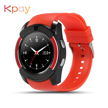 New Waterproof Smart Watch Bluetooth V8 Smartwatches Touch Screen Wrist Watch With Camera SIM Card Slot Sports Watch For Android original waterproof u8s sport u watch bluetooth smart wrist sports