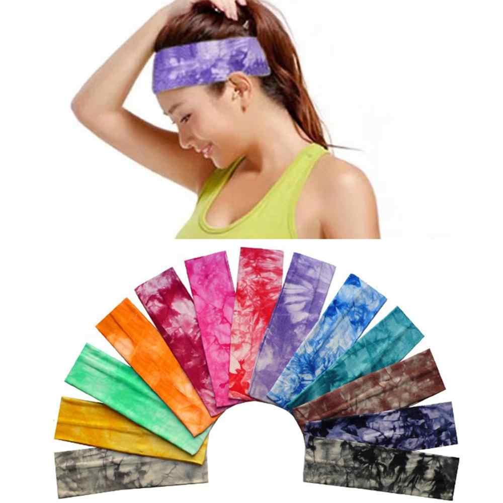 2019 nouvelles dames coton élastique bandeau bandeau Sport Yoga bandeau envelopper cou tête écharpe casquette 2 en 1 Bandana cheveux accessoires