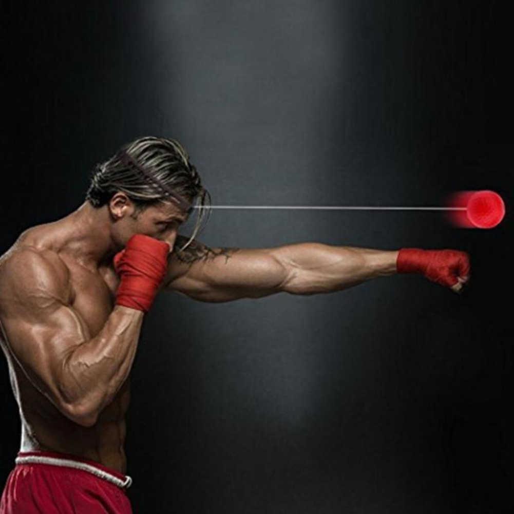 Tinju Refleks Kecepatan Pukulan Bola MMA Sanda Boxer Meningkatkan Gaya Reaksi Mata Tangan Pelatihan Set Stres Tinju Muay Thai Latihan
