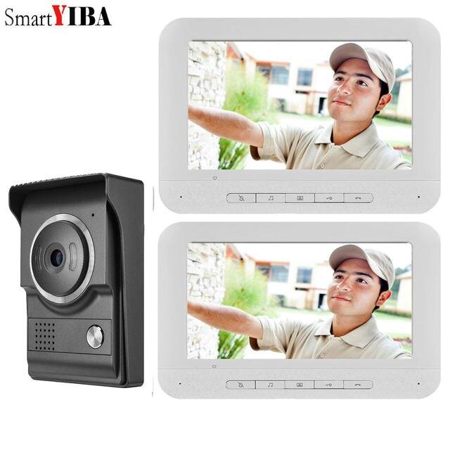SmartYIBA Hình Ảnh Hồng Ngoại Camera 1000 TV Line Vòng Chuông Cửa HD Có Dây Chuông Cửa Liên Lạc Nội Bộ Hệ Thống Chuông Cửa Mục Từ Điện Thoại cuộc Gọi