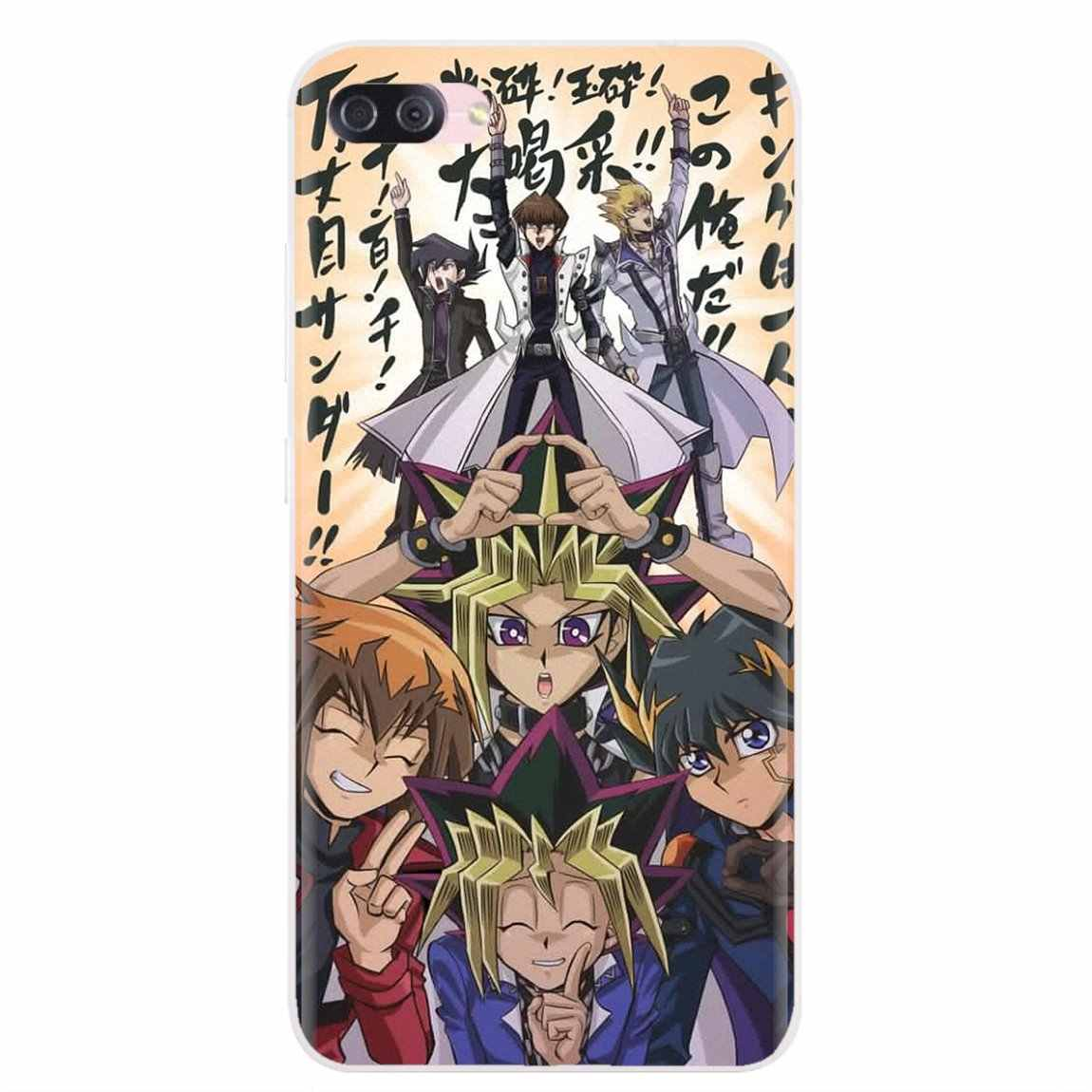 YuGiOh הגדול אלים מצריים עבור Samsung Galaxy הערה 2 3 4 5 8 9 S2 S3 S4 S5 מיני s6 S7 קצה S8 S9 בתוספת רך סיליקון TPU Case